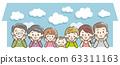 My home, family, three generations 63311163