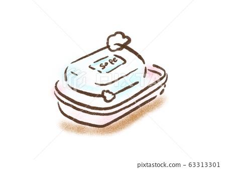 Soap illustration 63313301