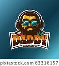 Daddy gaming, E sport vector logo 63316157