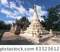Maha Thein Twa Gyi Pagoda in Mandalay, Myanmar. 63323612