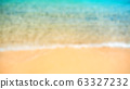 Tropical seashore. Top view, close up. Blurred 63327232
