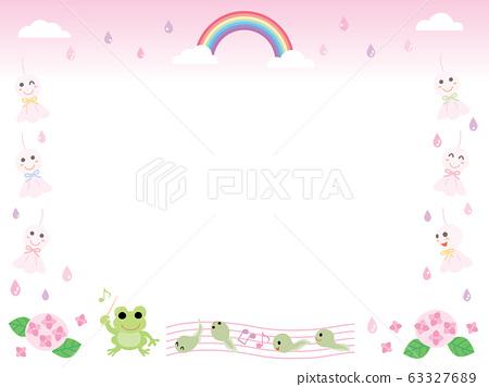 테루 테루 보즈과 개구리들 핑크 63327689