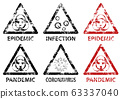 Set of Stamp Epidemic, Pandemic and Infection 63337040