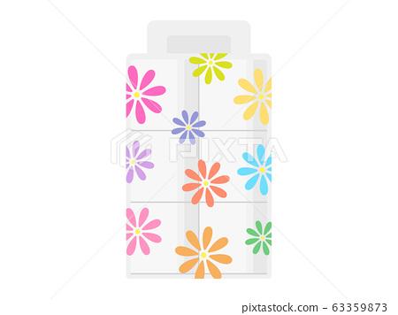 Illustration of toilet paper 63359873