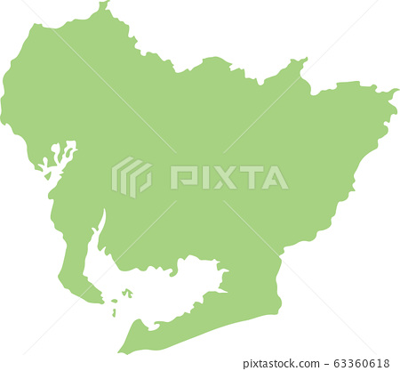 愛知縣地圖 63360618