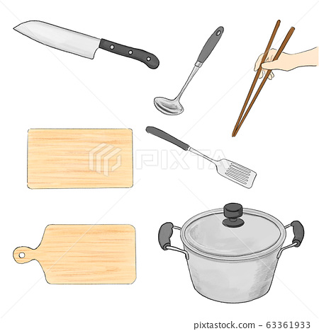 Curry cooking utensils 63361933
