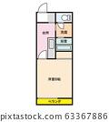 平面图住宅公寓公寓形象 63367886