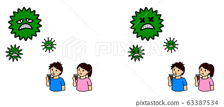 바이러스 화장실 감기 예방 63387534
