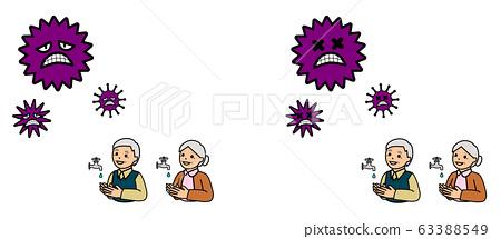 바이러스 화장실 감기 예방 63388549