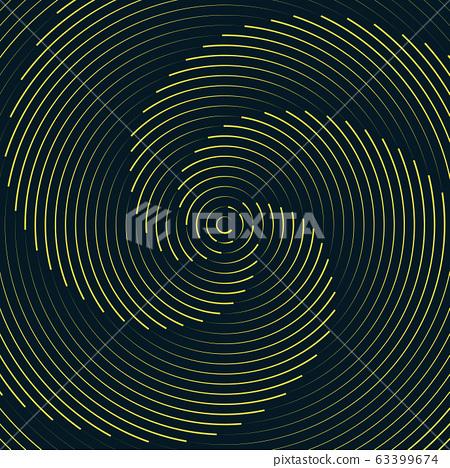 Abstract circle swirl design pattern artwork artwork background. 63399674