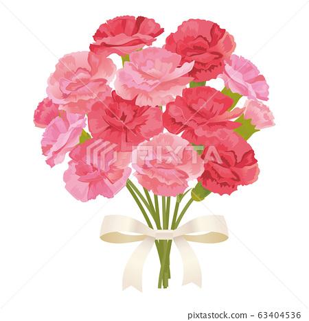 康乃馨花束 63404536