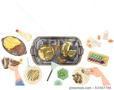 Okonomiyaki party Okonomiyaki party 63407796