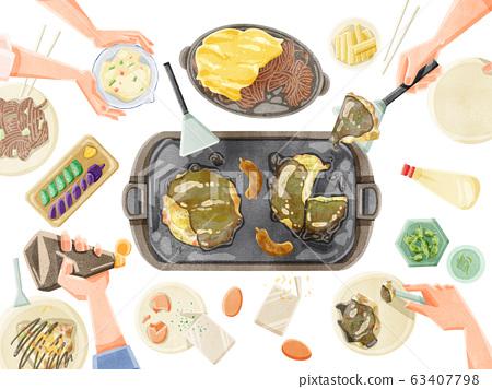 Okonomiyaki party Okonomiyaki party 63407798