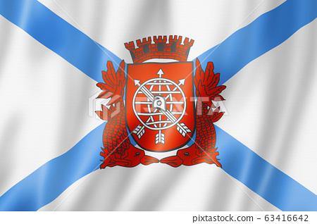 Rio city flag, Brazil 63416642