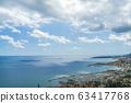 Menton, Cote d'Azur, France. Coastline of French 63417768