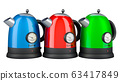 Colored Electric Kettles with Temperature Control 63417849