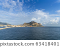 View on Pellegrino mountain and port of Palermo 63418401