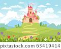 Fairy Tale castle. 63419414