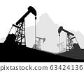 Oil pump oil rig energy industrial machine  . 63424136