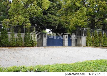 March 159 Main gate of Takanawa Imperial House (former Takamatsu Palace House), 159, Minato-ku 63426480