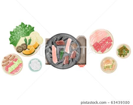 烤肉套燒烤 63439380