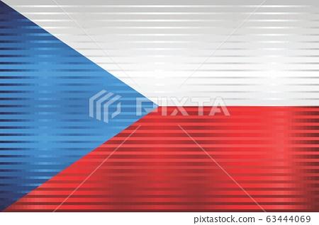 Shiny Grunge flag of the Czech Republic 63444069