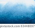 Soap bubbles extreme closeup creating elegant and 63448097