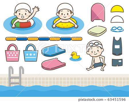 游泳池套裝 63451596