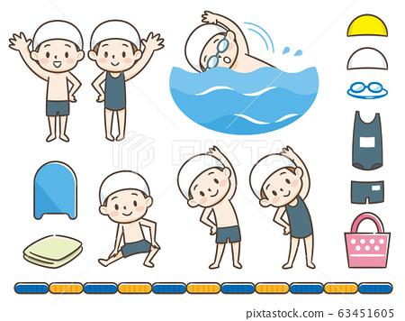 游泳池套裝 63451605