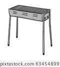 Barbecue grill 63454899
