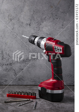 Hand work tools or construction tools top view 100 63455172