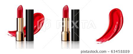 Red lipstick set 63458889