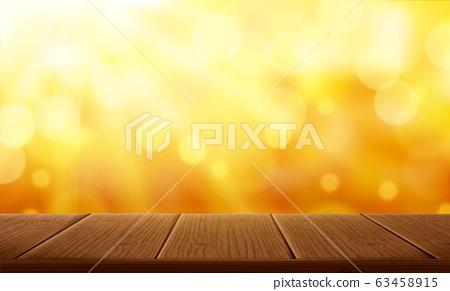 Yellow glittering background 63458915