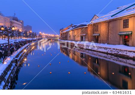 Hokkaido_Otaru Snow Light Path 63461631