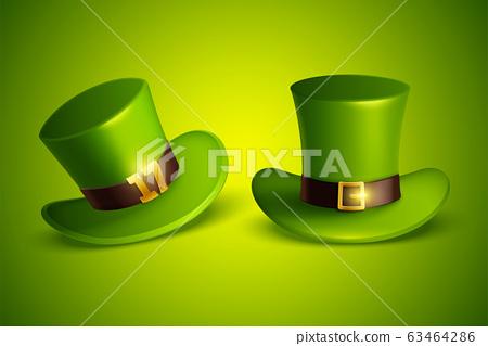 Green leprechaun hat 63464286