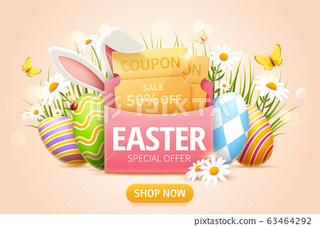 Easter sale popup ads 63464292