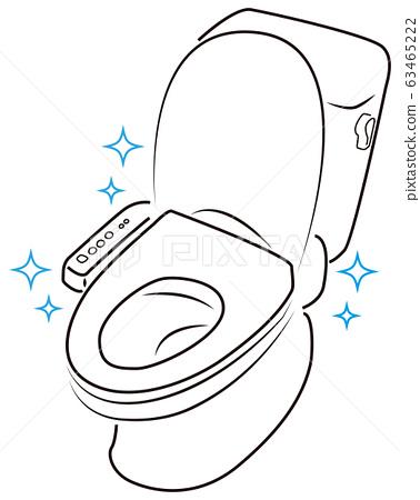 廁所畫線 63465222