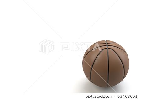 3D 렌더링에 의한 농구 일러스트 63468601