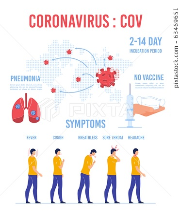 Coronovirus World Transmission Warning Infographic 63469651