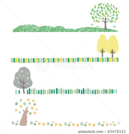 可愛的樹標題 63478152