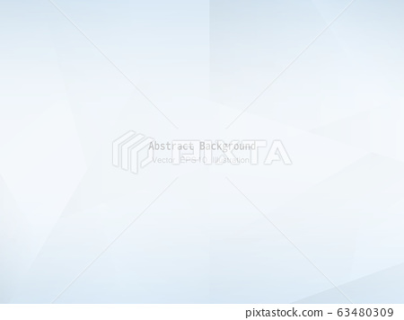 Abstract geometric white and gray polygon or 63480309