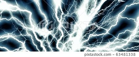 強烈的閃電 63481338