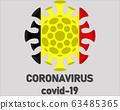 Coronavirus 2019-nCoV, COVID-19 in Germany. Coronavirus epidemic concept 63485365