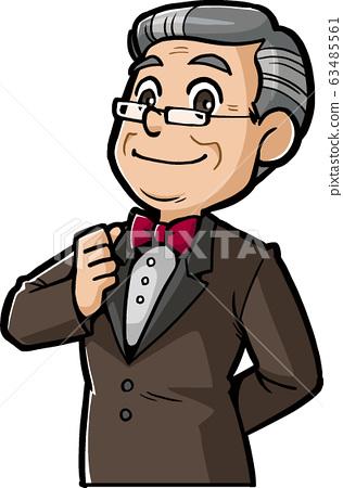 經理般的男人(成熟和老年人) 63485561