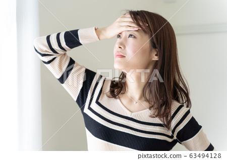 Headache women 63494128