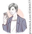 智能手机男性男 63494477