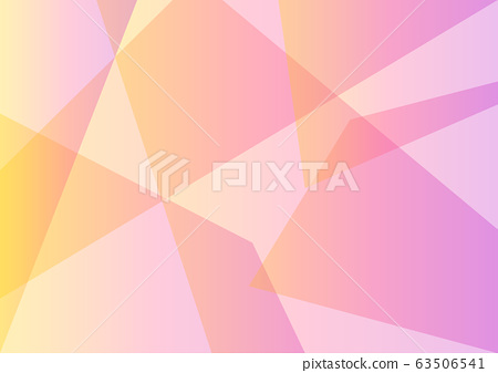 pastel yellow pink facet layer abstract background 63506541