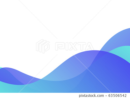 pastel blue wave layer abstract background 63506542