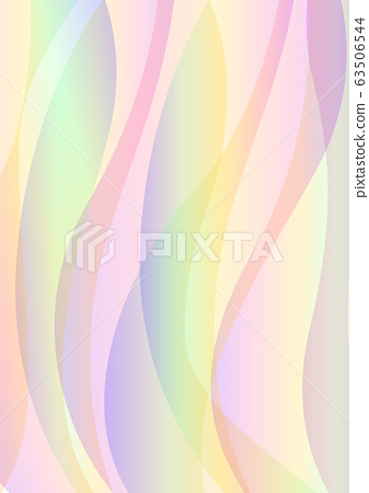 pastel rainbow wave layer abstract background 63506544