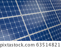 Wall of Solar Panels 63514821
